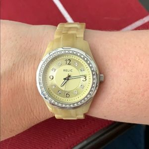 Relic brand shell watch